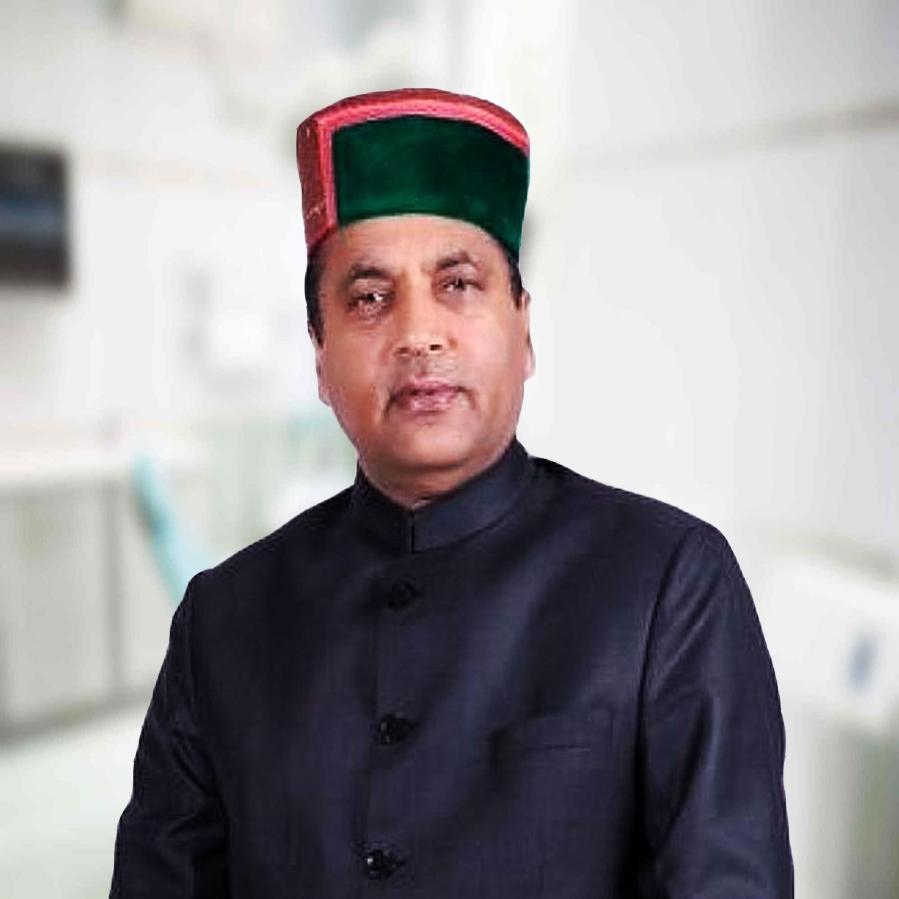 Chief Minister . Sh Jai Ram Thakur